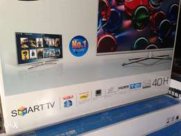 Internet 40,inch sony samsung led lcd tv Full HD perfect modelH99
