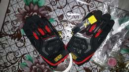 Pro biker and impact riding gloves