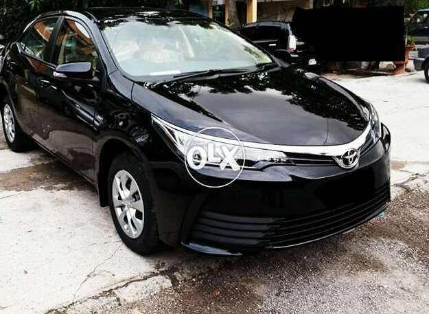 Toyota Corolla Gli Model Registered In 2019 On Monthly Installments