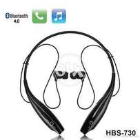 Bluetooth handsfree hbs730_Memory Flex Neck Strap wid Mgnetic Ear buds