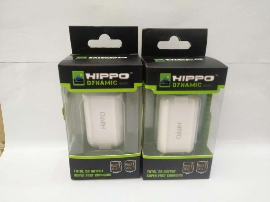 Travel Charger Hippo Dynamic Dual USB