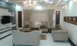 Bahria car nor furnished One kanal ground portion for rent in phase 5
