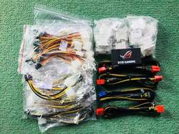 All type of connectors pcie 6pin 8pin molex