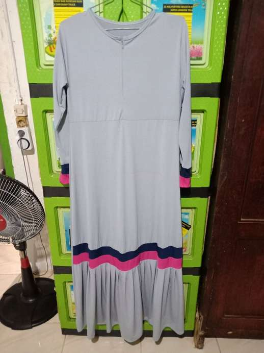 gamis jersey sporty