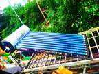 Solar waterheater with 5 year replacement warranty.cont:884834219four.
