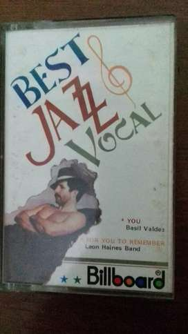 Kaset pita best jazz vokal
