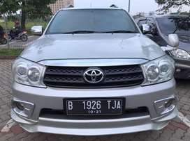 (KREDIT)Toyota Fortuner G 2.5 AT 2009 Silver Upgrade TRD