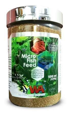 Micro fish food