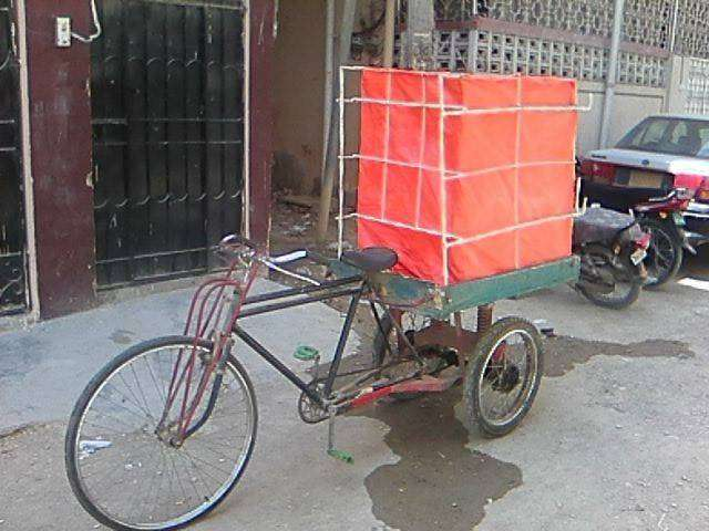 Loading cycle Rickshaw 0