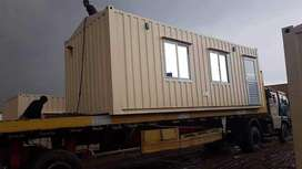 Office containers prefab school extension