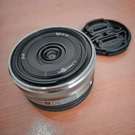 Lensa Sony E 16mm F2.8 - Sony Lens SEL Pancake Lens