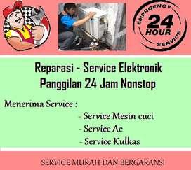 Lokasi servis Ac / Kompor tanam 2tungku / Frezerbox / Showcase trouble