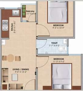 Affordable flats