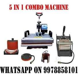 T shirt and Mug printing machine