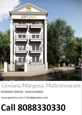 3 BHK for New Luxury Flat for sale in Malleshwaram Margosa Road