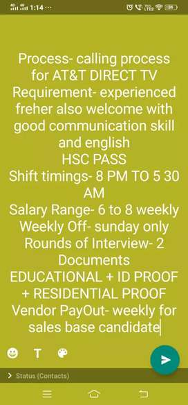 Urgently Required Telecallers For Night Shift Only