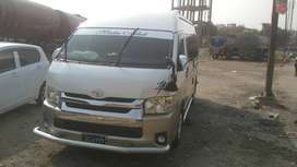 Hiace Available For Rent..