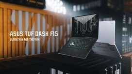 ASUS TUF DASH F15 FX516PC i5-11300H 8GB 512GB SSD RTX3050 Cash&Kredit
