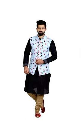 Designer nehru jacket at very low factory price 60% discount