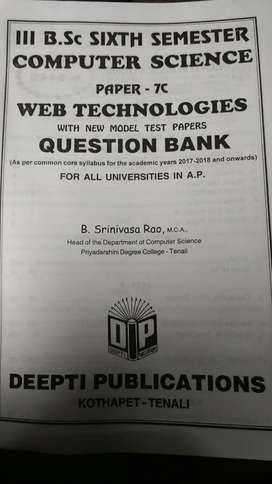 Web technologies paper 7c semester 6