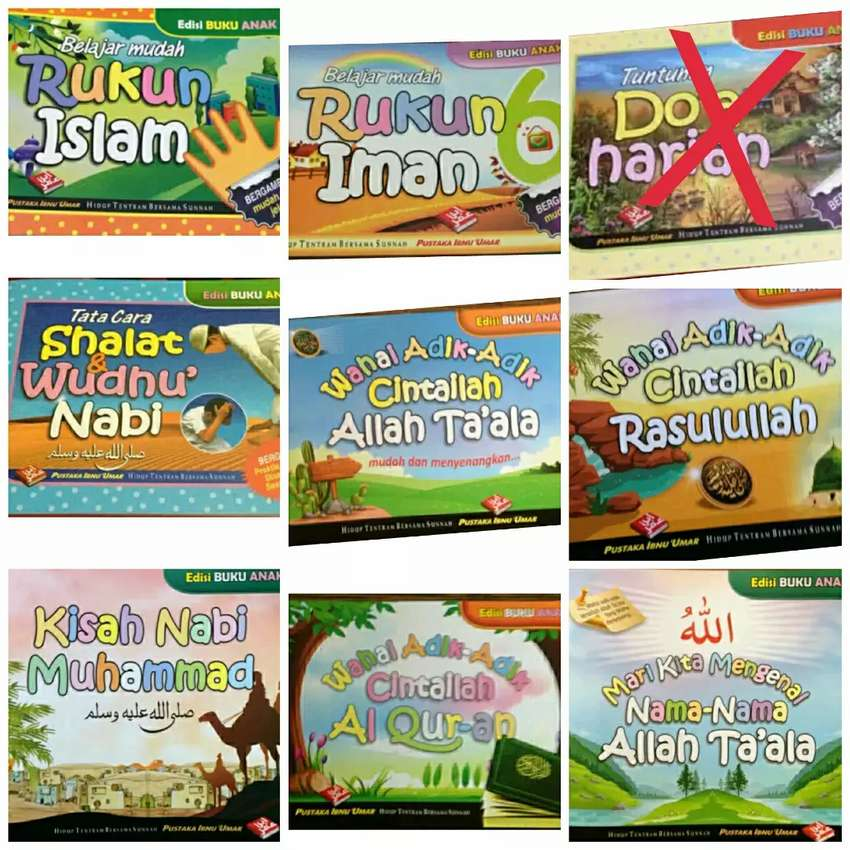 Buku Anak Islami 0