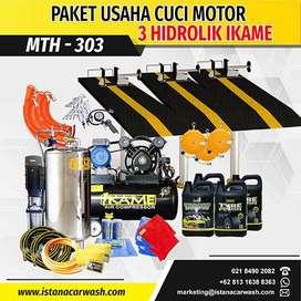 """PAKET CUCI MOTOR """"3 HIDROLIK"""" MTH-303, Untuk Hidrolik Cuci Mobil Motor"""