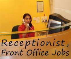 hiring for receptionist and front office executives.