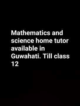 Mathematics and science tutor available