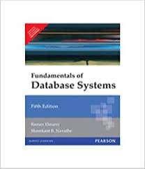 Fundamentals of Database Systems by  Elmasri, Navathe