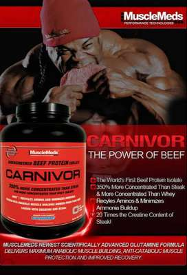 Whey protein isolate Beef carnivor 4,6lbs