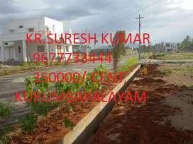 DTCP approved plot and villa sale at Kurumpalayam,Coimbatore