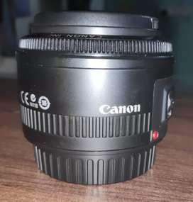 Canon 50 mm f1.8