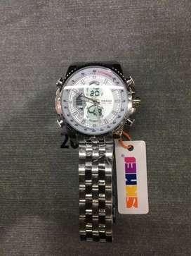 Skmei jam tangan pria analog /digital Waters resistan