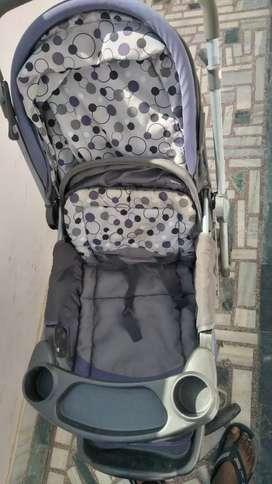 Potable stroller for babies