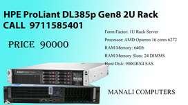 HPE ProLiant DL385p Gen8 2U Rack Used Server