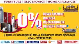 Furniture & Electronics at 0% EMI in NETTAYAM on Free Delivery