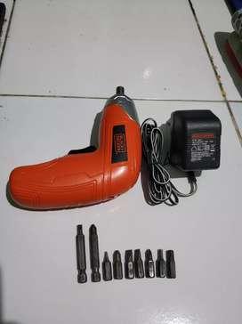 Jual Black Decker screwdriver murah