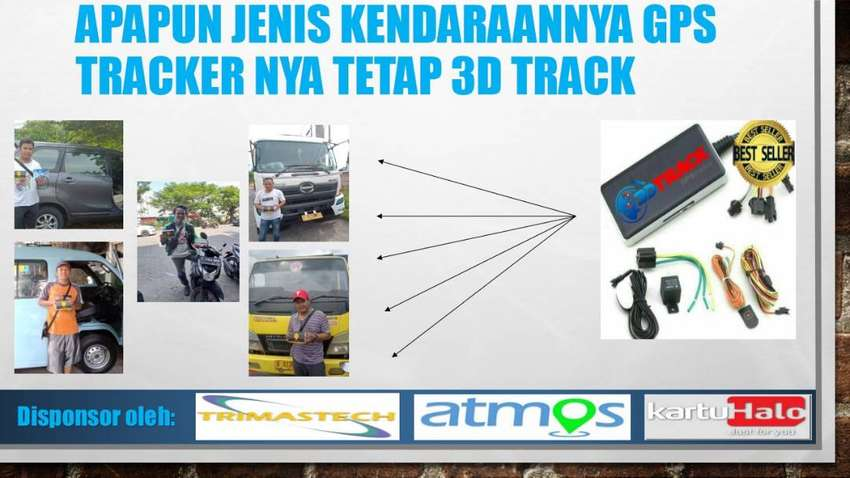 GPS TRACKER 3D TRACK TERUPDATE 0