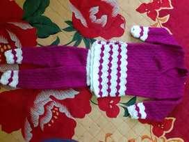 New brand woolen kurti and leggie.