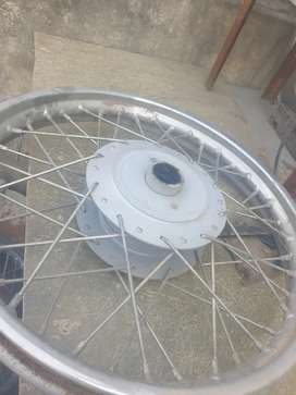 Bullet tyree wheel