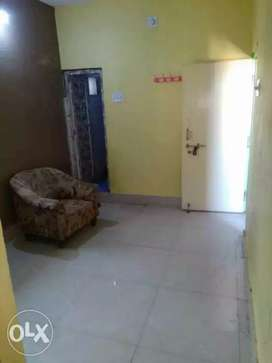 Single room with attached toilet and kitchen