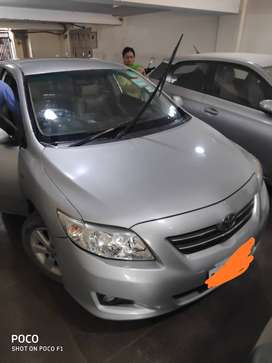 COROLLA ALTIS CNG AND PETROL SILVER COLOUR