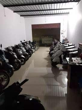 Bike/scooty starting from 8000/-