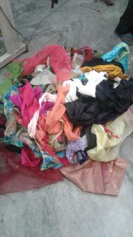 Tailor shop waste clothes