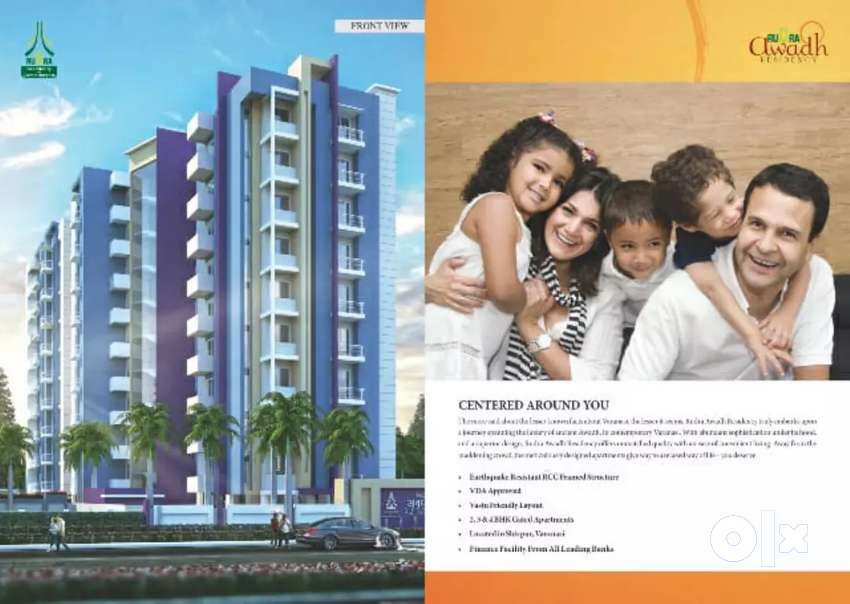 Two bhk flat for sell in rudra awadh shivpur varanasi 0