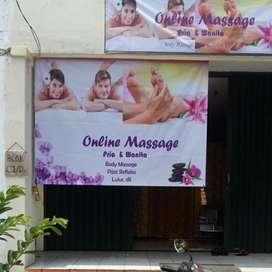 Dicari Pekerja WANITA untuk pijat Refleksi Massage