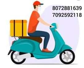 Need delivery executive (petrol,attendance bonus+ incentive)