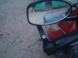 Side mirror   for bike and scooter