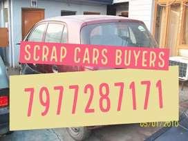 Unused non working scrap cars buyers