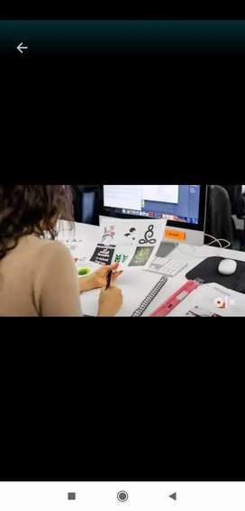 Required Experienced graphic designer part time